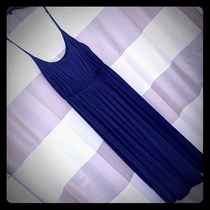 Tweeds Navy Blue Summer Dress